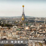 What is Paris 26 Gigapixels project?