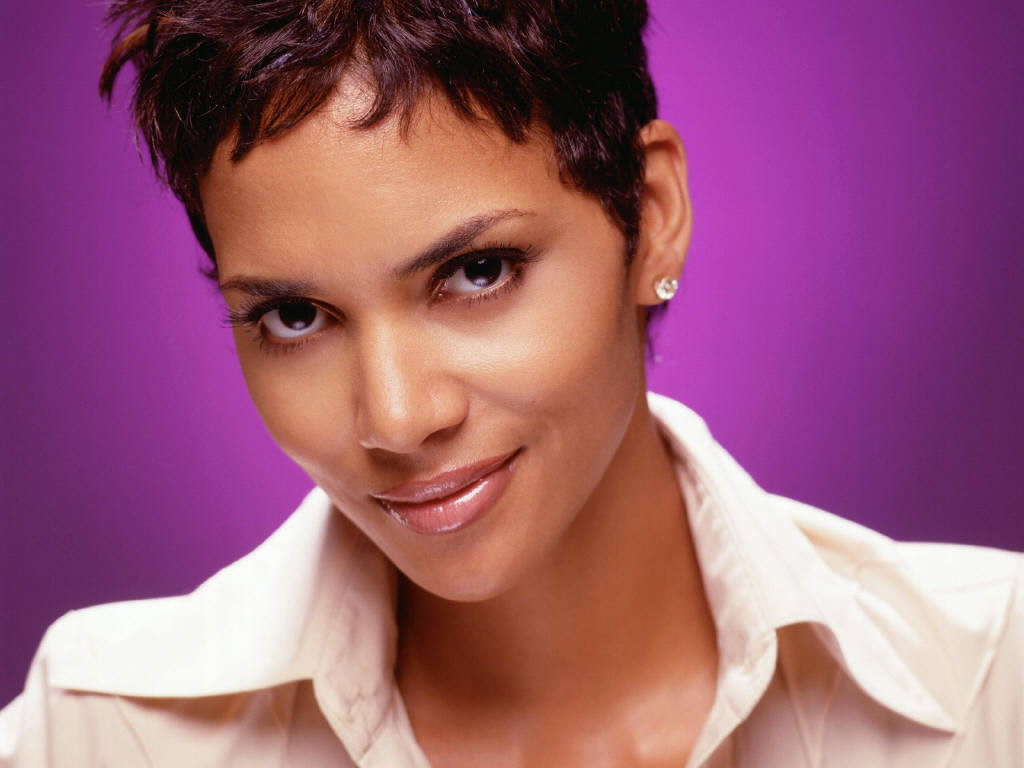 Halle Berry, an American actress, former fashion model, and beauty ...