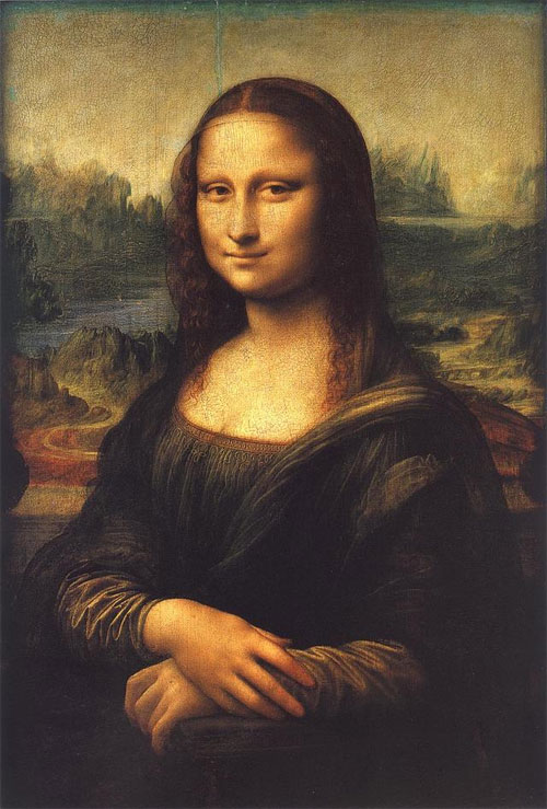 Was the Mona Lisa inspired by a male model?