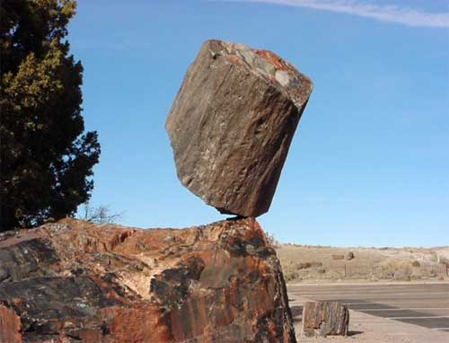 World's Most Spectacular Balanced Rocks