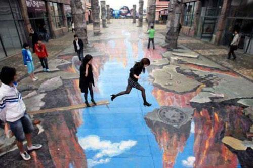 Karya Lukisan Jalanan 3D Paling Menakjubkan