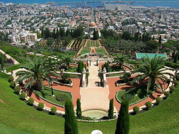 Haifa, Izrael, Bahai garden