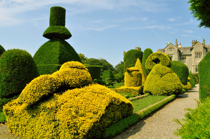 Levens Hall Garden- ENGLAND