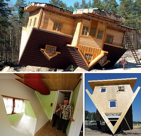 Turkey. The Turkish Upside Down House ...