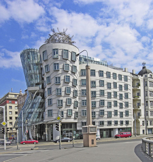 dancing house-Czech rep