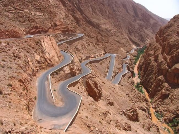 Atlas Mountains Road, Marocco