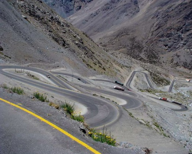 Los Caracoles Pass, Andy, Chile & Argentina