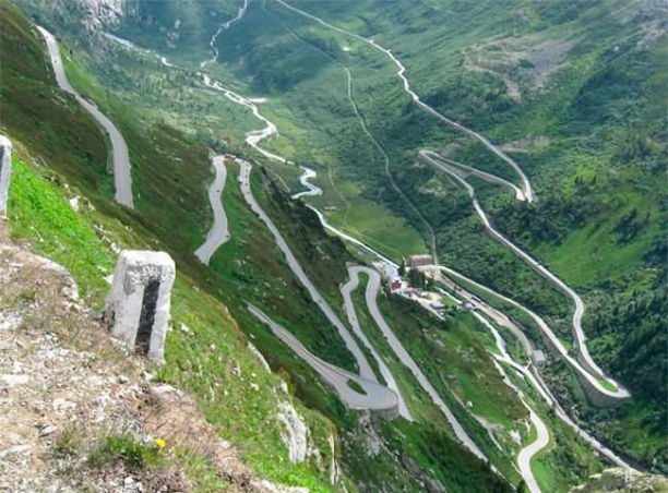 Stelvio Pass Road- Italy