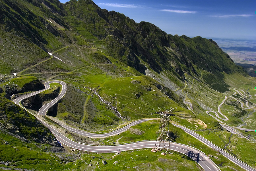 Transfagarasean Road- romania