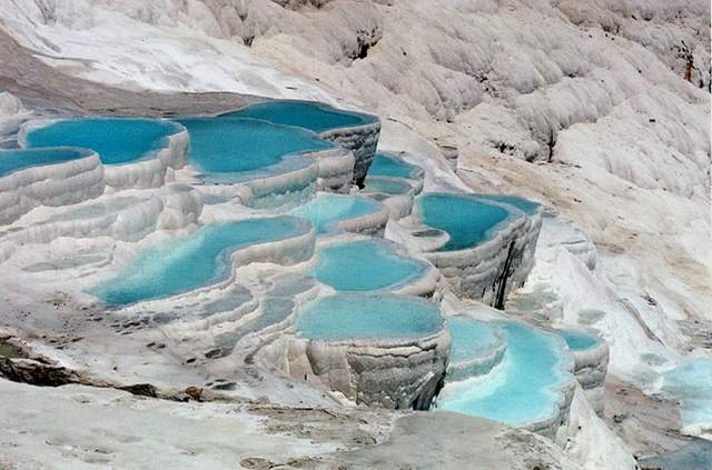Pamukkale in Turkey.2