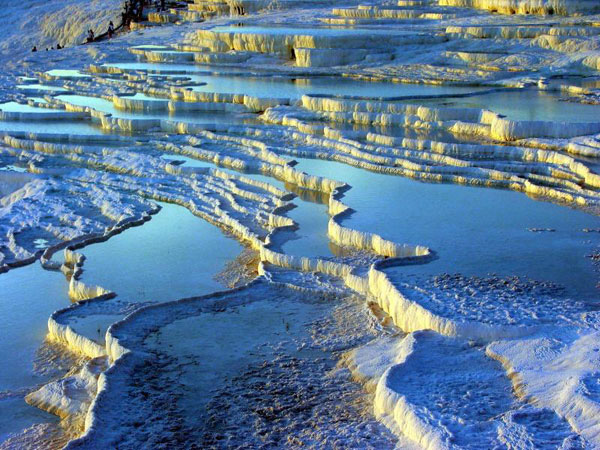 Pamukkale in Turkey.4