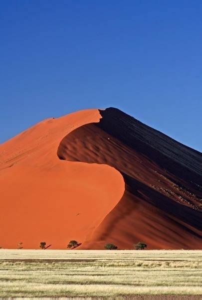 Sand dunes of Namibia.