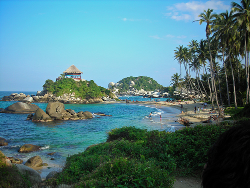 Tayrona National Park in Colombia.2