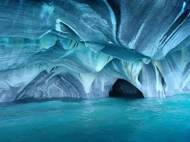 The ice caves of Skaftafeli Iceland.