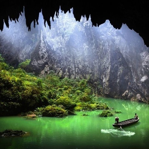 Yingxi corridor of stone peaks of Qinyuan, China.