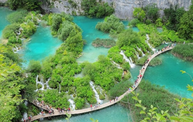 lake plitvice croatia