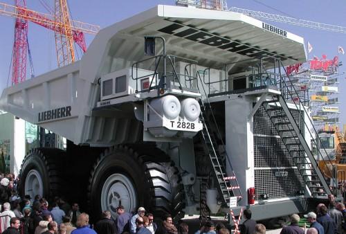 biggest construction equipment