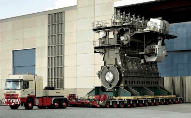 biggest engine in the world 190 000 hp