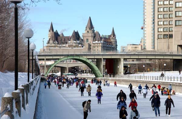 biggest skating ring - Canada