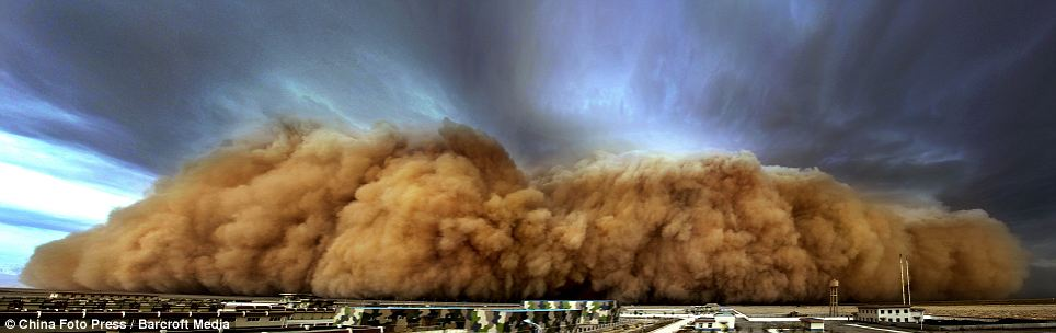 sand dust storm in china Sandstorms frequently hit the arid north of china in the spring, when  temperatures start to rise, stirring up clouds of dust that can travel across.