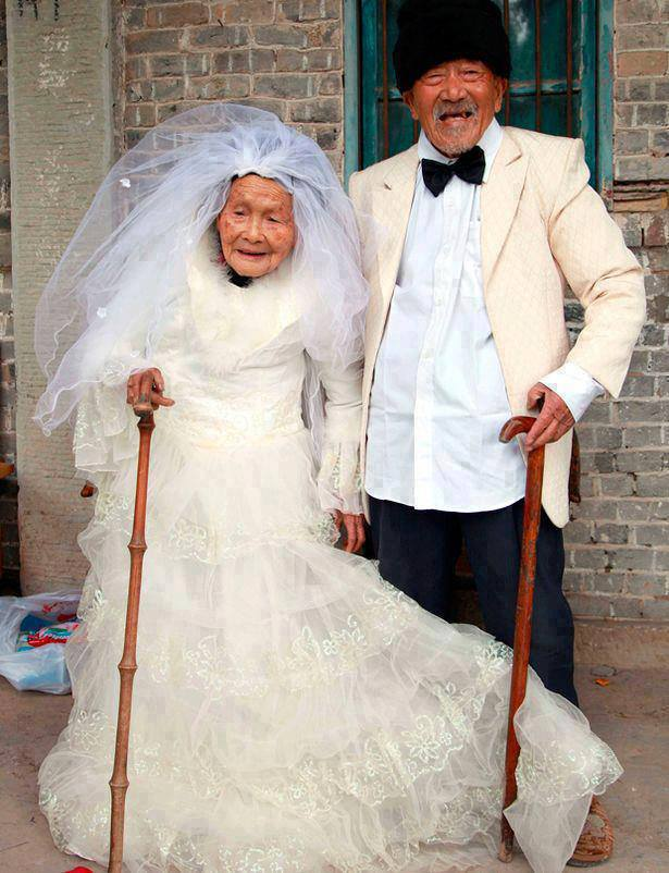 China Wu Conghan, 101, and wife Wu Sognshi, 103, married for 88 years