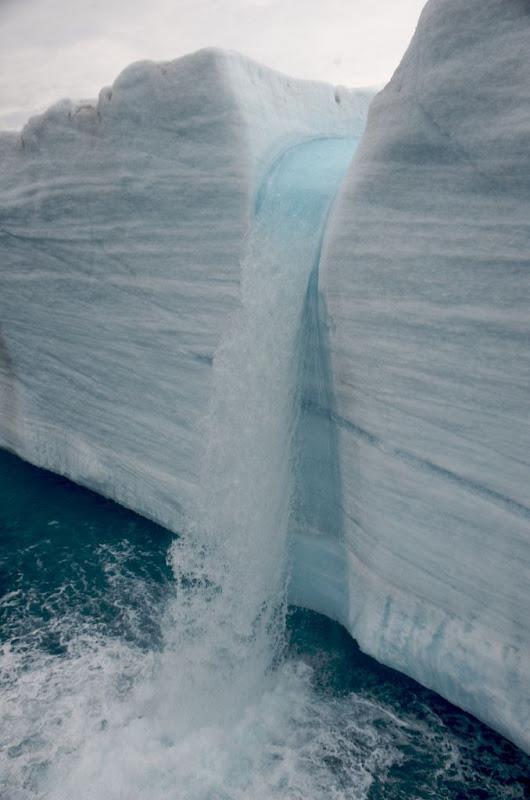 glacial waterfall norway