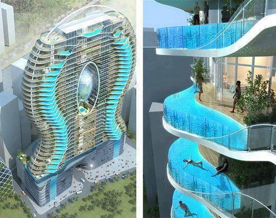 mumbai each room has swimming pool