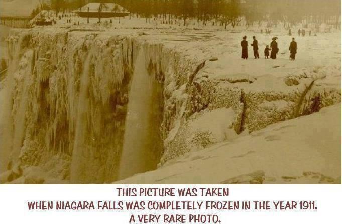 niagara frozen 1911