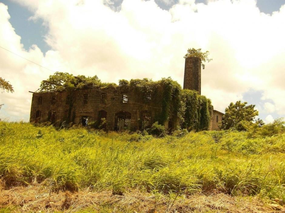 Abandoned distillery, Barbados