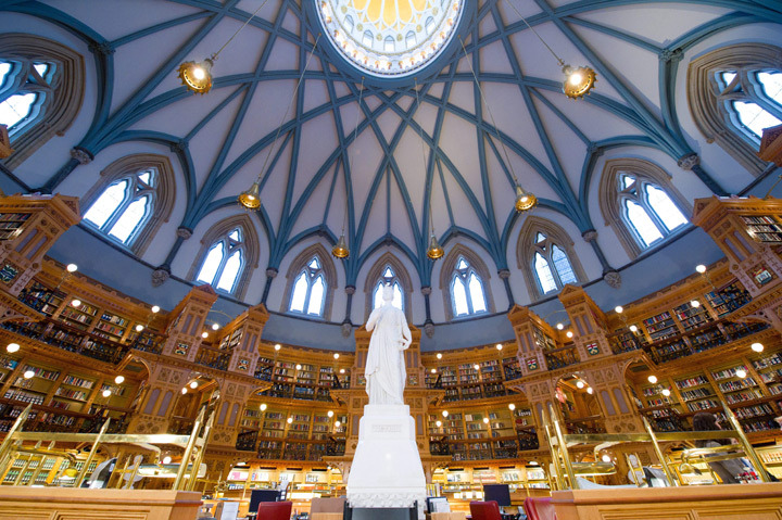 library-of-canadian-parliament
